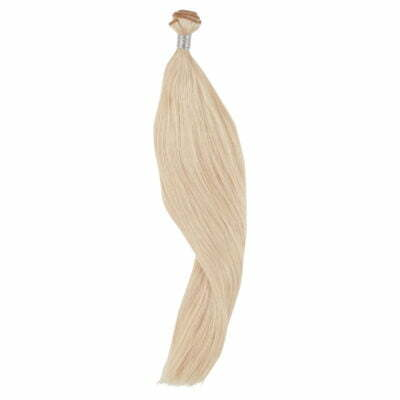 100 gram luksus hairextensions 70 cm platinblond, farve 60