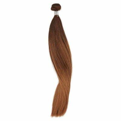 100 gram Luksus hair extensions 50 cm, balayage Farve 4-4/12-12