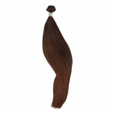 100 gram luksus hairextensions fra Düwald farve 4 (57 cm)