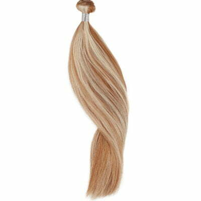 100 gram luksus hair extensions 50 cm. Farve 60/12 piano