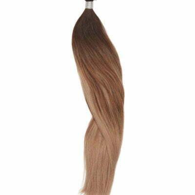 100 gram Luksus Hair extensions 50 cm balayage café latte 2-2/8-8