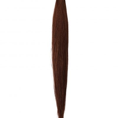 Ponytail Clip in extensions 90 gram Luksus Hair extensions 50 cm -Farve 4