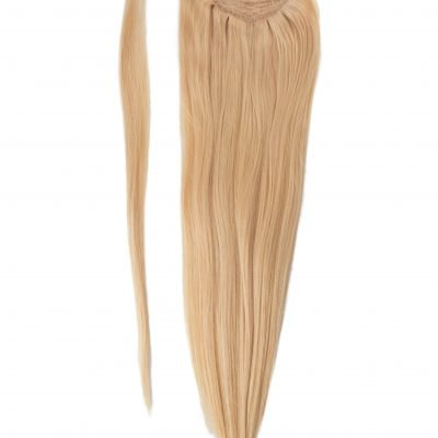 Ponytail Clip in extensions 90 gram Luksus Hair extensions 50 cm -Farve 60