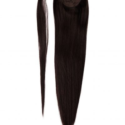 Ponytail Clip in extensions 90 gram Luksus Hair extensions 50 cm virgin hair