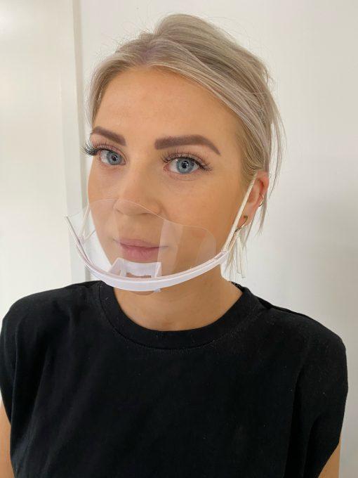Mundvisir//mund-næse visir//fra 29 kr stk