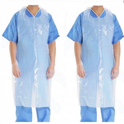Engangsforklæde/plastikforklæde 50 stk. 79,95